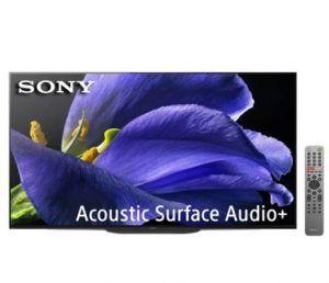 tele de 77 pulgadas Sony