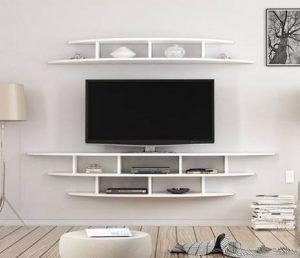 mesa television suspendida