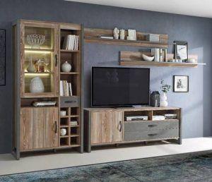 Mueble tv industrial conforama