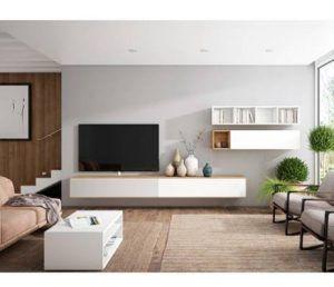 Mueble tv blanco el corte inglés