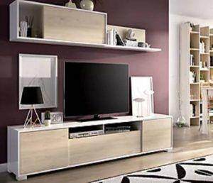 Mueble tv modular madera