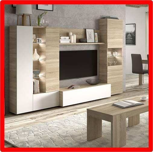 Mueble tv de madera Conforama