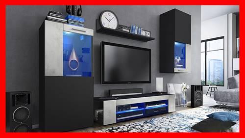 Mueble tv modular moderno