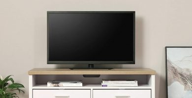 Mueble tv madera amazon