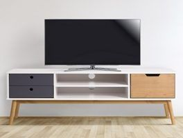 mesas de televisión bajas