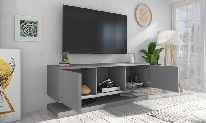 mueble tv colgado pared
