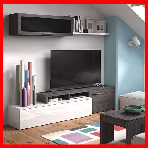 mueble de tele negro