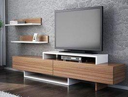 mesas tv madera