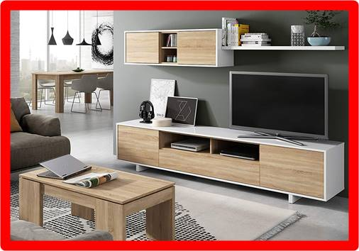 Mueble tv de 60 pulgadas