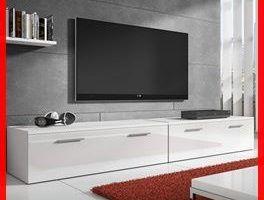 mesas tv blancas