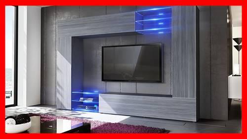 Mueble tv con luces LED