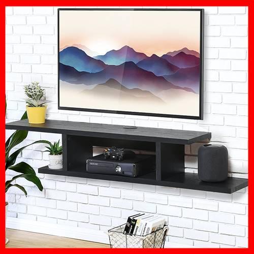 mesa televisor flotante